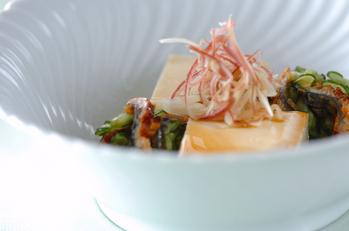 嵯峨豆腐・サッパリサラダ