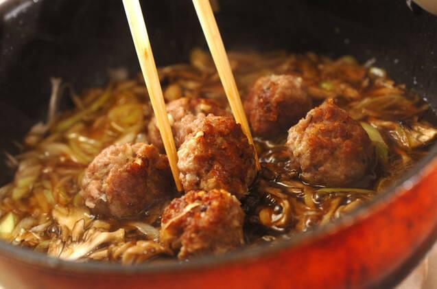 肉団子のオイスターあんの作り方の手順9