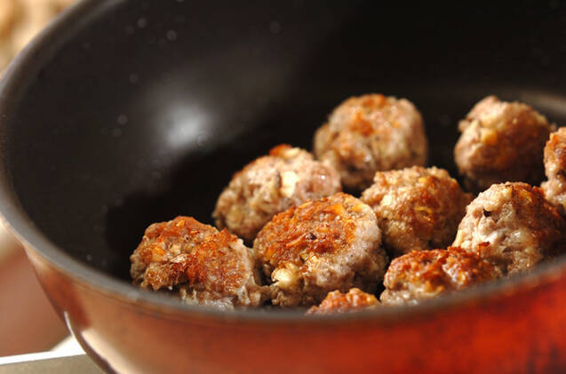 肉団子のオイスターあんの作り方の手順8