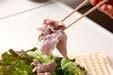 豚シャブサラダの作り方2
