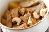 大根と鶏手羽の煮物の作り方1