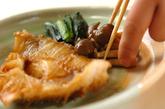 赤魚と小松菜の煮付けの作り方4