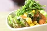豆腐サラダ・タラコドレ