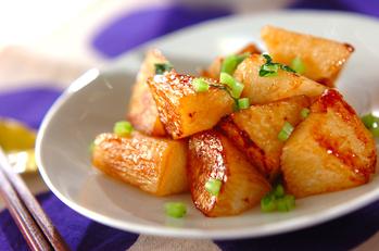長芋のオイスター炒め