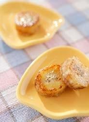 バナナのバター焼き