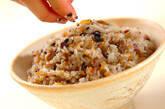 雑穀入り炊き込みご飯の作り方6