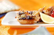 鶏手羽のユズコショウ焼き