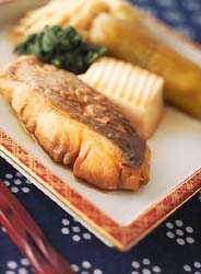 白身魚の煮付け