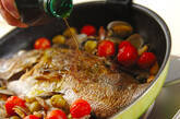 まるごと鯛のアクアパッツァの作り方7