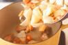 クリームシチューの作り方の手順4