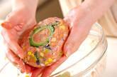 夏のなごりハンバーグの作り方7