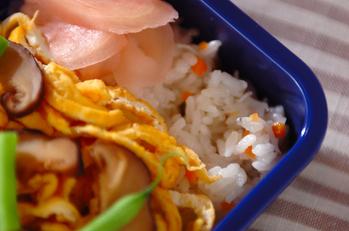 チリメンジャコのちらし寿司