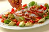 タコとアボカドのお刺身サラダの作り方1