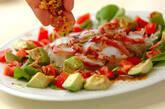 タコとアボカドのお刺身サラダの作り方7