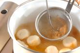 麩と天かすのみそ汁の作り方1