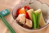 高野豆腐と鶏肉の含め煮