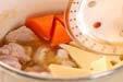 高野豆腐と鶏肉の含め煮の作り方5