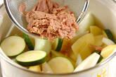 ツナとジャガイモのフレッシュトマト煮の作り方3