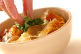 即席!低カロリー親子丼の作り方5