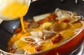 即席!低カロリー親子丼の作り方4