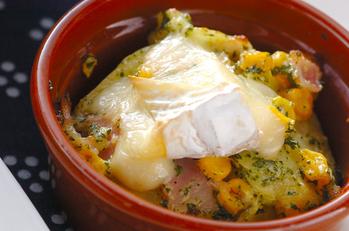 簡単ポテトチーズ焼き