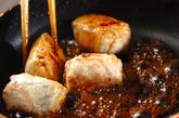 カボチャの煮物肉巻きの作り方2