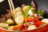バナナとポークの炒め物の作り方の手順7