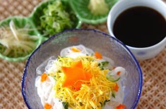 七夕のお素麺