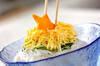七夕のお素麺の作り方の手順9