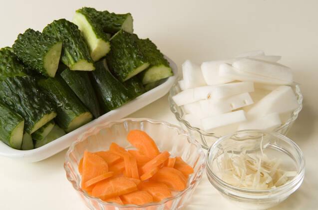 カリカリ野菜炒めの作り方の手順1