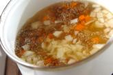 レンズ豆のスープの作り方1