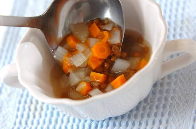 レンズ豆のスープの作り方の手順6