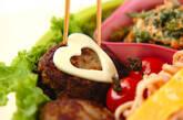ハッピーガールハンバーグ弁当の作り方6