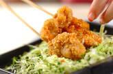 鶏のナッツ衣揚げの作り方9
