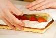フルーツロールケーキの作り方11