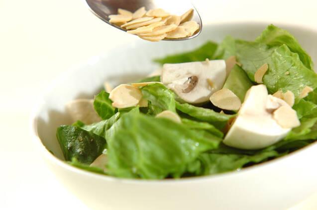 マッシュルームのサラダの作り方の手順5