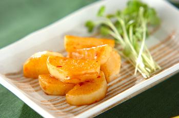 長芋のバターソテー