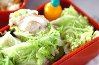 豚肉の白菜ロール