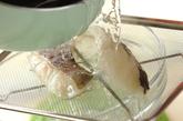 タラの炊き込みご飯の作り方1