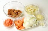 野菜とビーフのカレーの作り方2