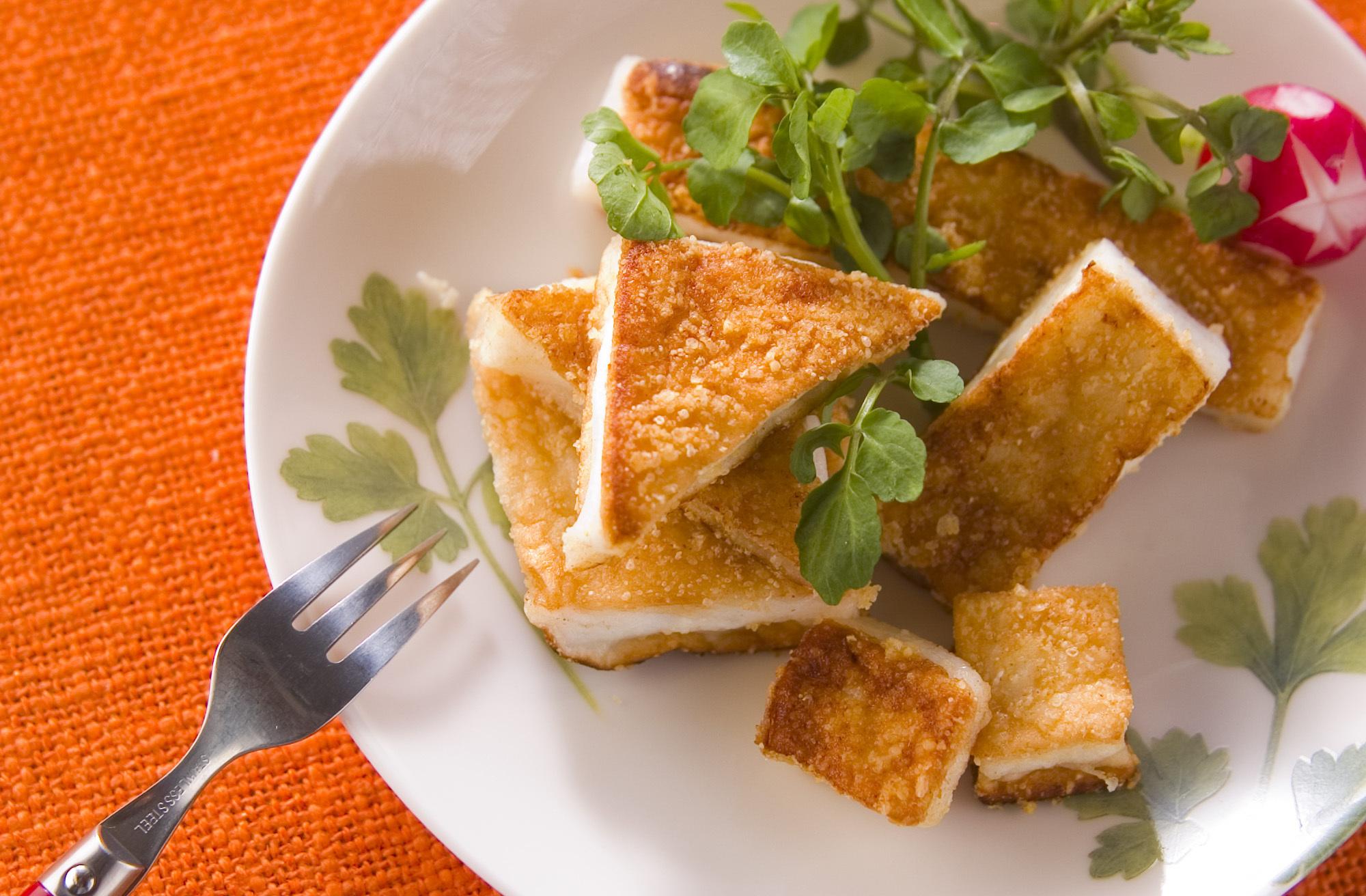 ハンペンのチーズソテー