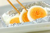 卵とブロッコリーのチーズ焼きの作り方1