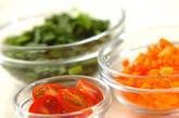 野菜スープの下準備1