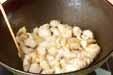 鶏肉のナッツ炒めの作り方2