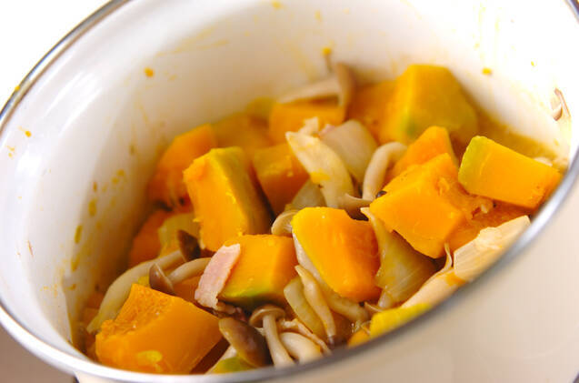 カボチャのミルクスープの作り方の手順3