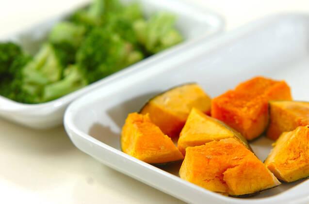 簡単カボチャのサラダの作り方の手順1