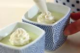 抹茶のムースの作り方6