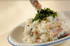 しめサバの混ぜ寿司の作り方の手順3