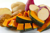 温サラダ ガーリック風味のゴマドレッシングの作り方5
