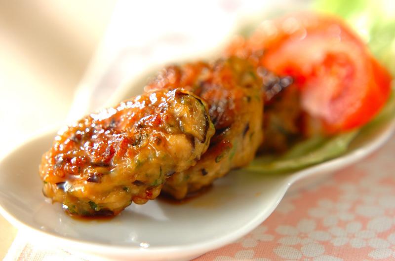 3. 照り焼き鶏バーグ